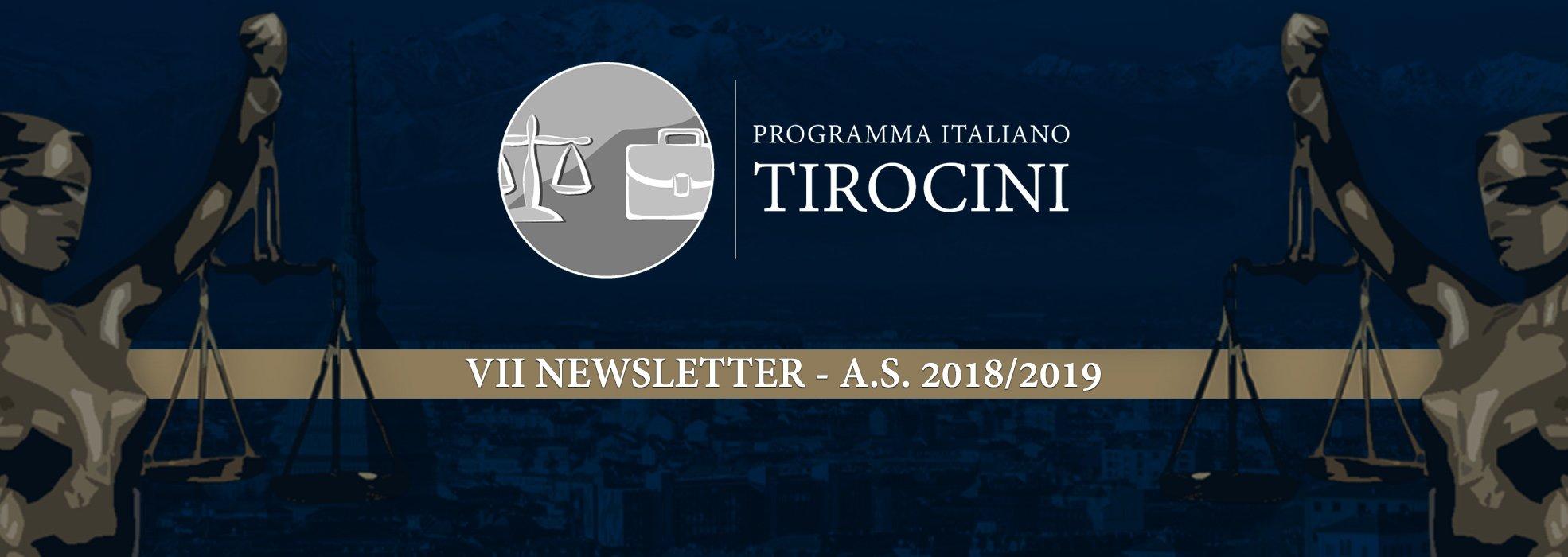 Programma Italiano Tirocini (PIT) – VII Newsletter 2018/2019