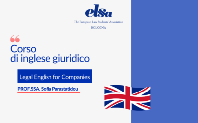 """Corso di inglese giuridico: Legal English for Companies"""