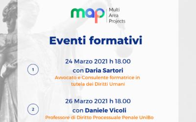 MAP: Due incontri formativi