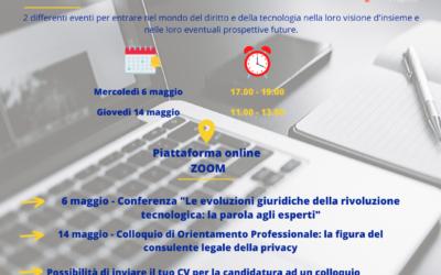TechnoLAWgy – Profili giuridici di una società digitalizzata