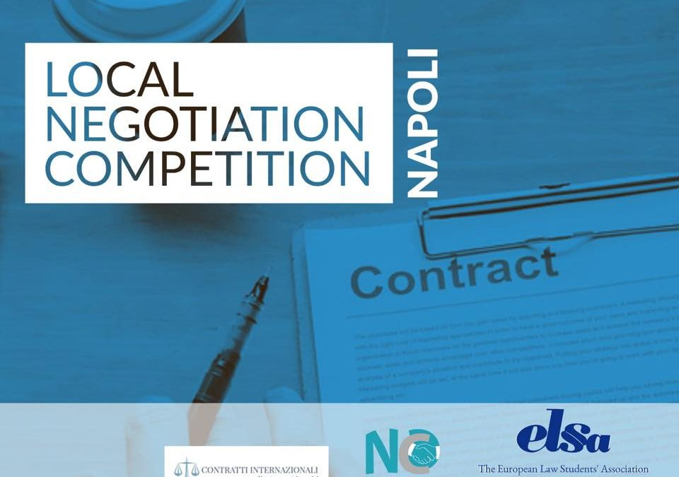 Local Negotiation Competition 2018/2019