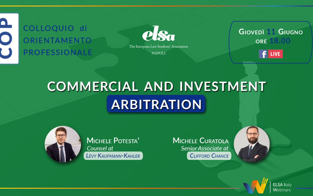 COP – Commercial and Investment Abritration