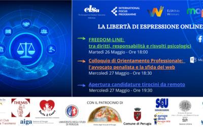 FREEDOM OF EXPRESSION ONLINE- MAP: il progetto di Perugia per l'International Focus Programme