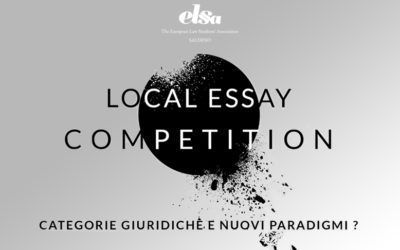 II LOCAL ESSAY COMPETITION