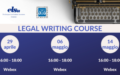 Legal Writing Course – 2020