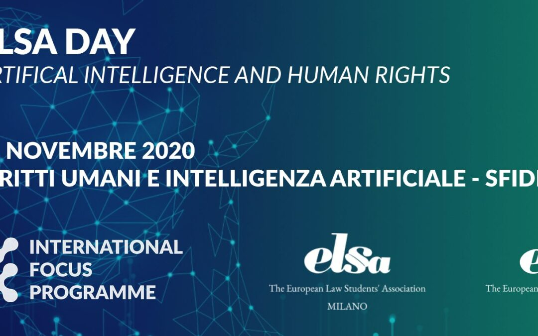 ELSA DAY – ARTIFICIAL INTELLIGENCE & HUMAN RIGHTS