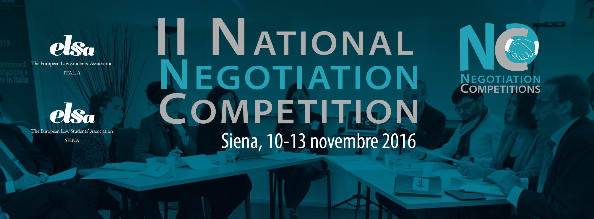 II NNC – Siena 2016