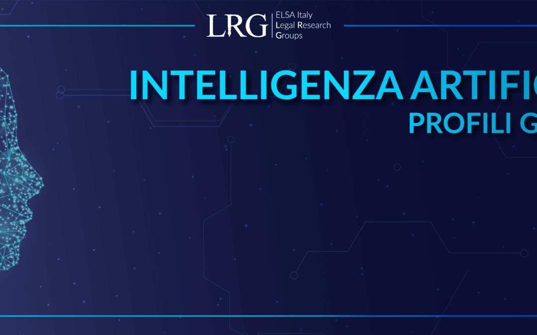 Intelligenza Artificiale: Profili giuridici – Legal Research Group