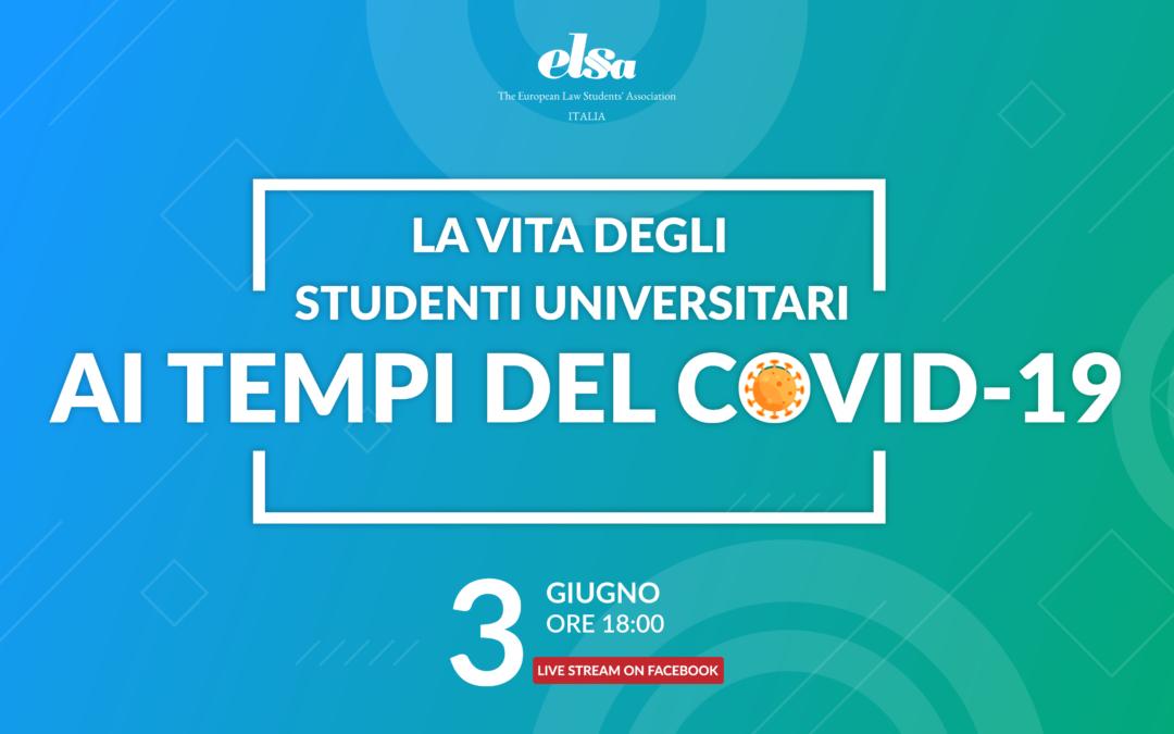 La vita degli studenti ai tempi del Covid-19