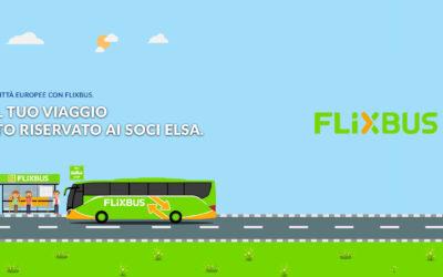 Partnership Flixbus – ELSA Italia
