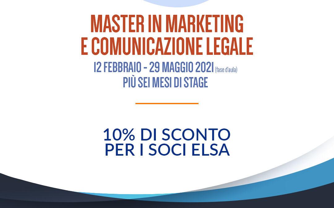 Convenzione ELSA Italia – LegalCommunity