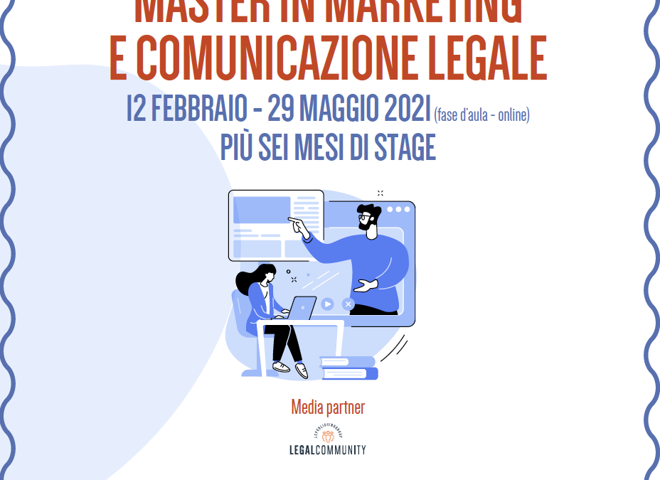 Master in Marketing e Comunicazione Legale – Legalcommunity